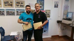 Entrega de diplomas Málaga