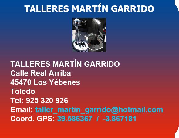 TALLERES MARTIN GARRIDO